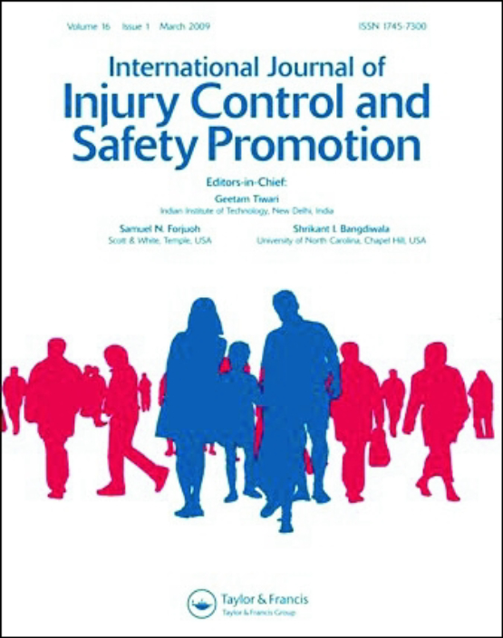 Cover image - International Journal of Injury Control and Safety Promotion