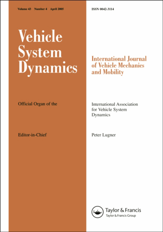 Cover image - Vehicle System Dynamics