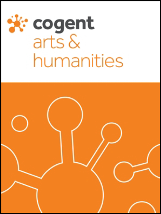 Cover image - Cogent Arts & Humanities