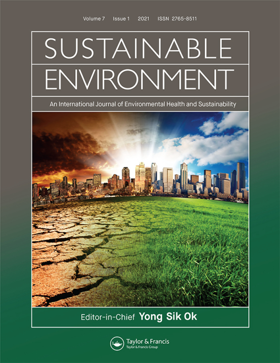 Cover image - Sustainable Environment