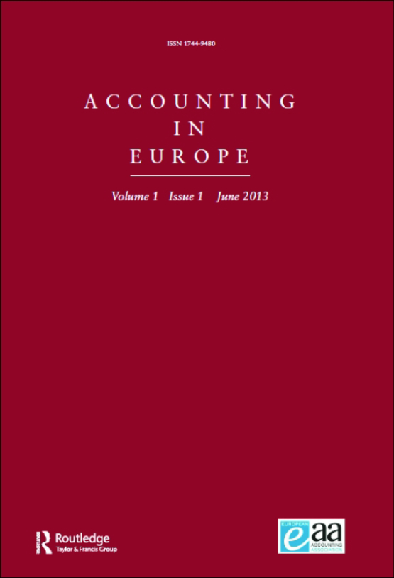 Cover image - Accounting in Europe