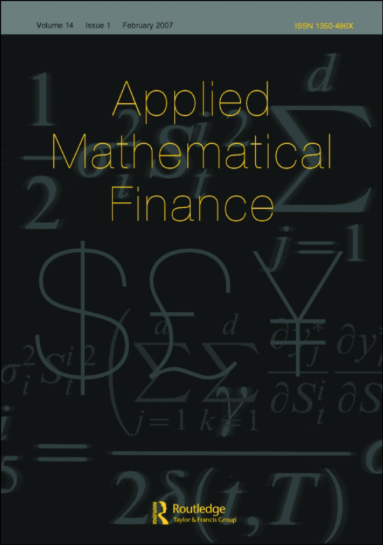 Cover image - Applied Mathematical Finance