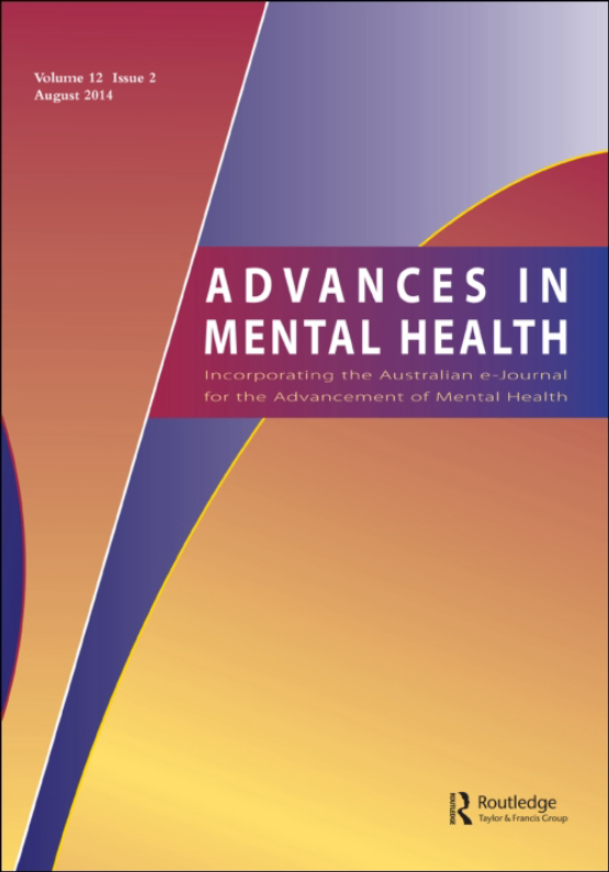 Cover image - Advances in Mental Health