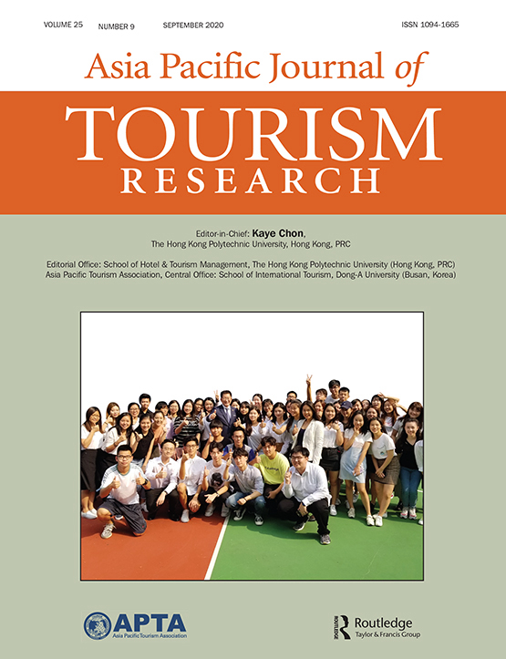 Cover image - Asia Pacific Journal of Tourism Research