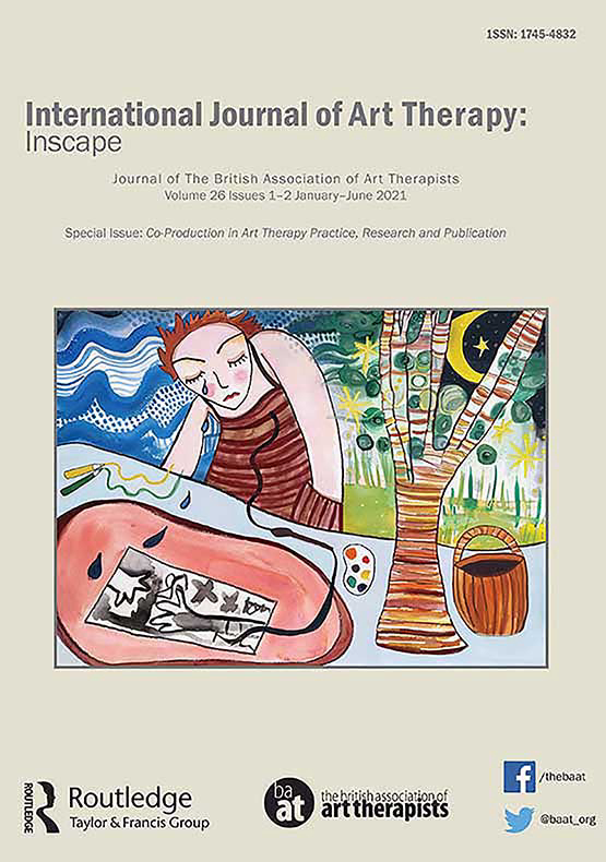 Cover image - International Journal of Art Therapy: Inscape