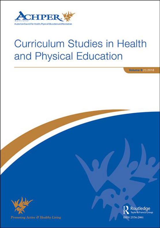 Cover image - Curriculum Studies in Health and Physical Education