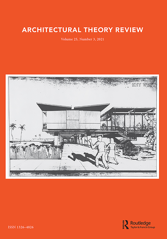 Cover image - Architectural Theory Review