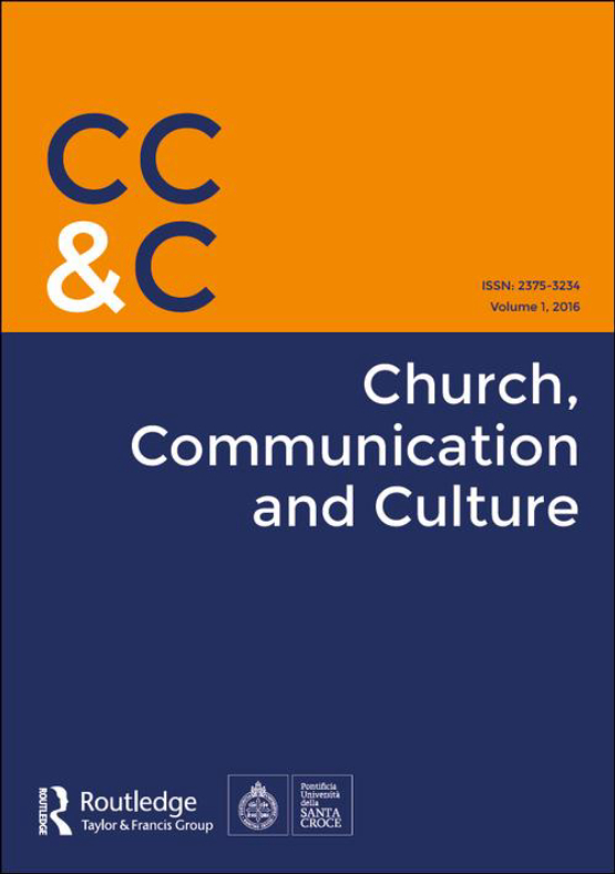 Cover image - Church, Communication and Culture
