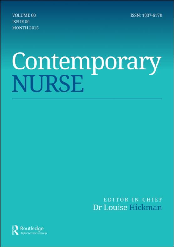Cover image - Contemporary Nurse