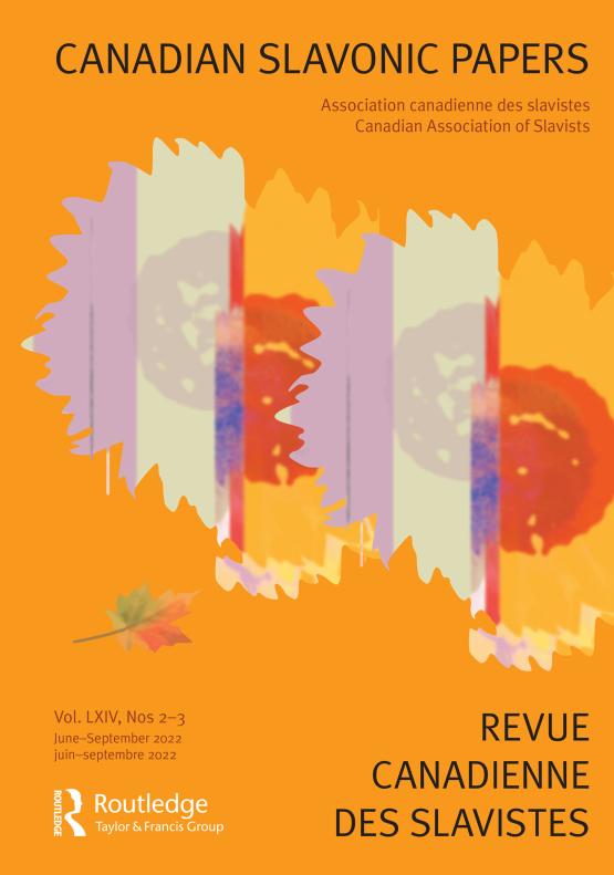 Cover image - Canadian Slavonic Papers/ Revue Canadienne des Slavistes