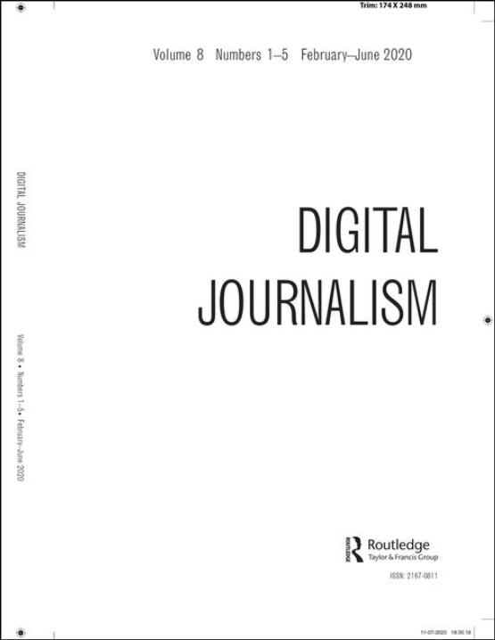 Cover image - Digital Journalism