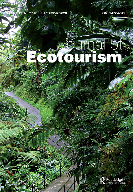 Cover image - Journal of Ecotourism