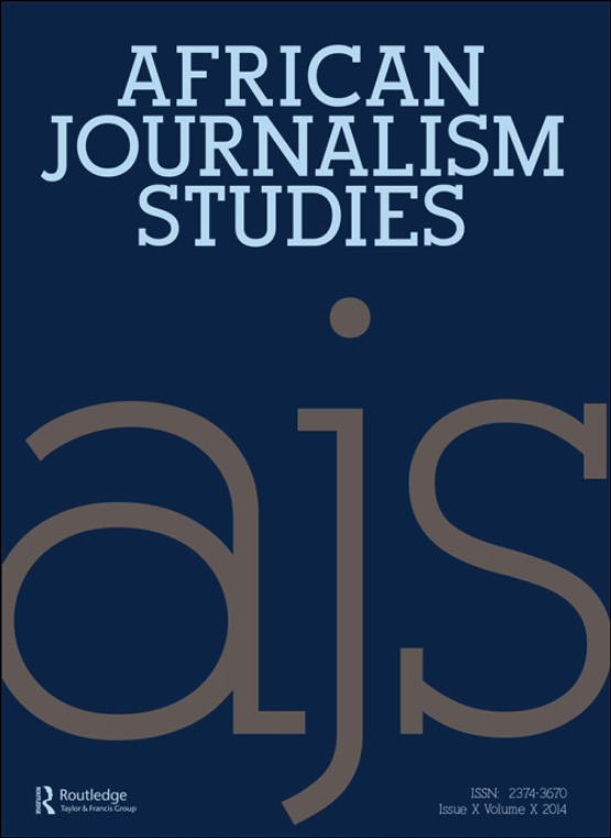 Cover image - African Journalism Studies