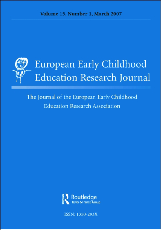 Cover image - European Early Childhood Education Research Journal (EECERJ)