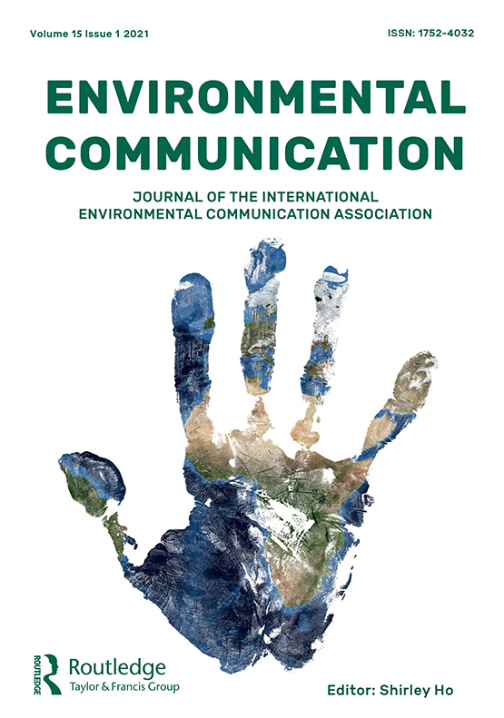Cover image - Environmental Communication