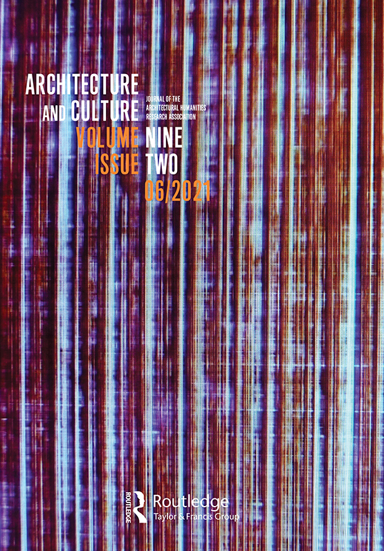 Cover image - Architecture and Culture