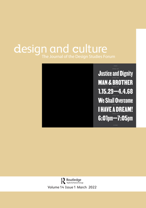 Cover image - Design and Culture