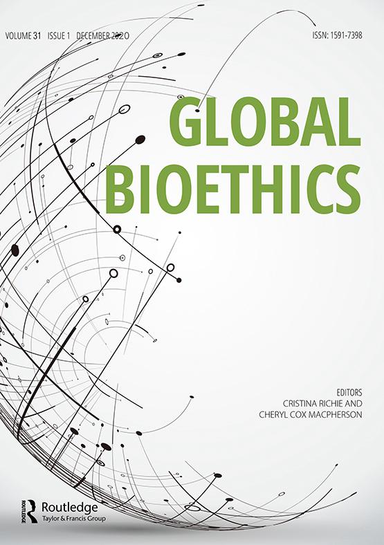 Cover image - Global Bioethics