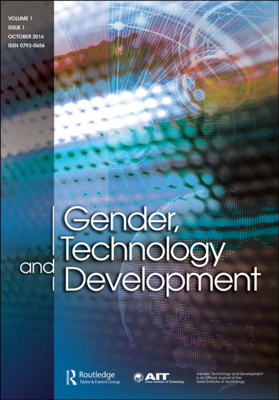 Cover image - Gender, Technology and Development