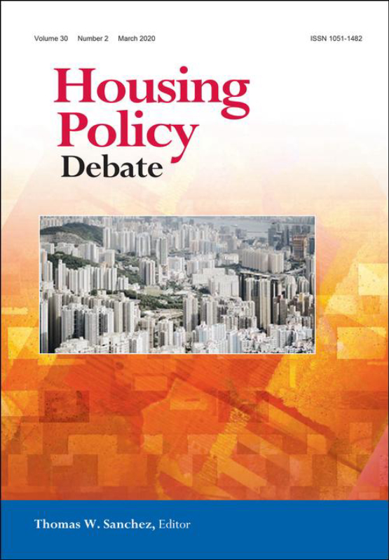 Cover image - Housing Policy Debate