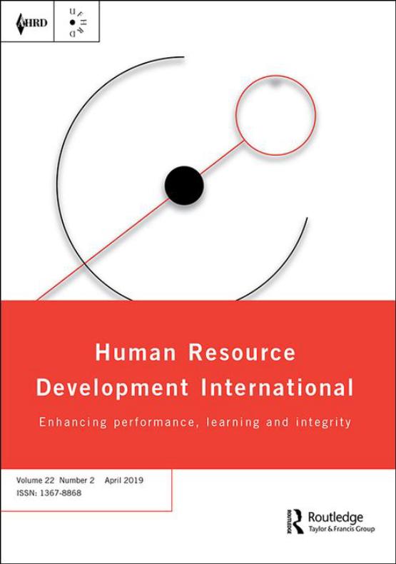 Cover image - Human Resource Development International
