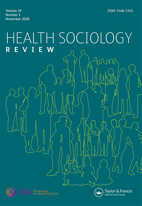 Cover image - Health Sociology Review