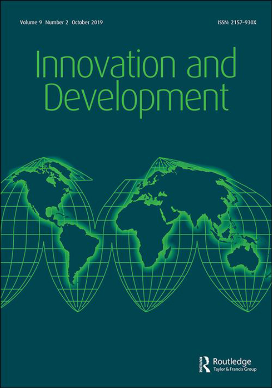 Cover image - Innovation and Development