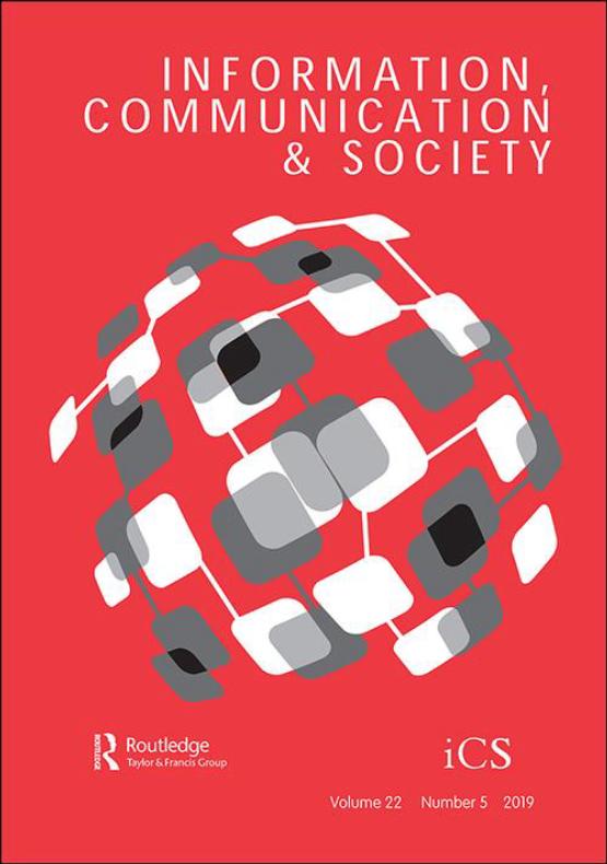 Cover image - Information, Communication & Society
