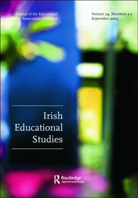 Cover image - Irish Educational Studies
