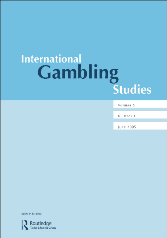 Cover image - International Gambling Studies