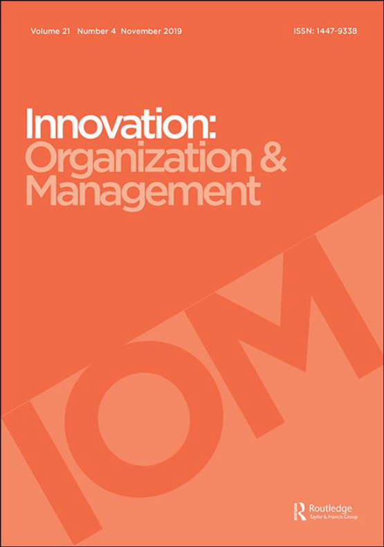 Cover image - Innovation: Organization and Management