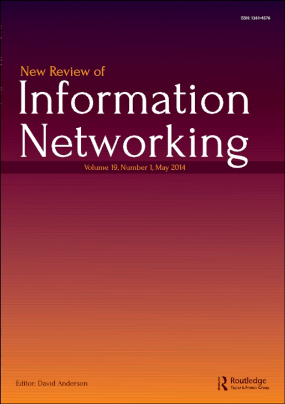 Cover image - New Review of Information Networking