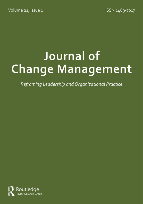 Cover image - Journal of Change Management