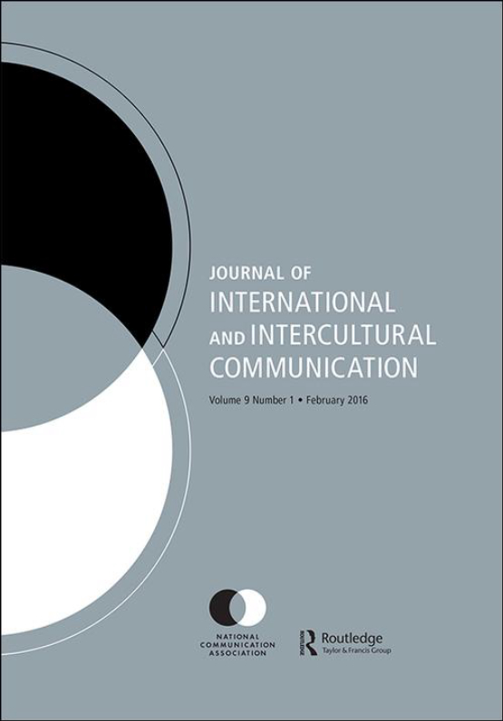 Cover image - Journal of International and Intercultural Communication