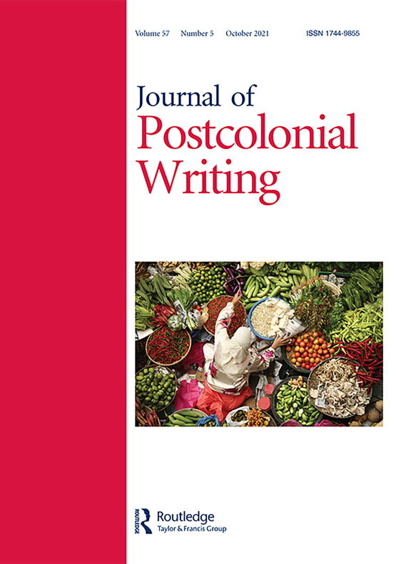 Cover image - Journal of Postcolonial Writing
