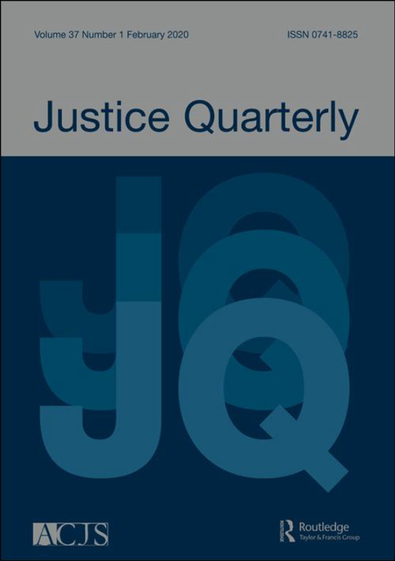 Cover image - Justice Quarterly