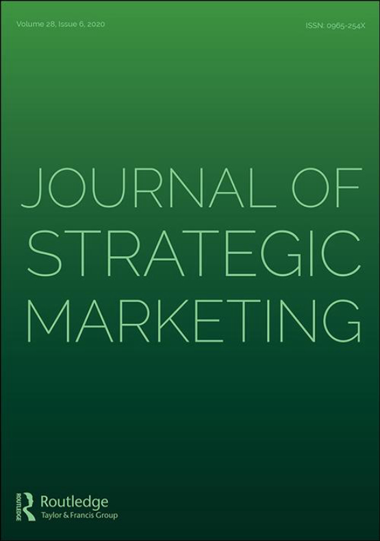Cover image - Journal of Strategic Marketing