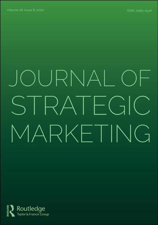 Cover image - Journal of Strategic Marketing