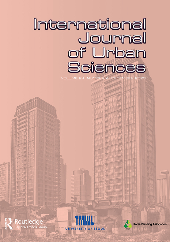 Cover image - International Journal of Urban Sciences