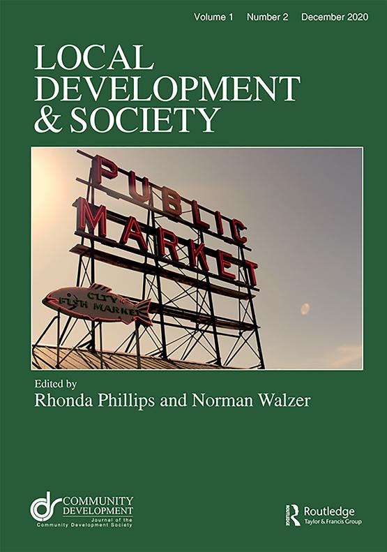 Cover image - Local Development & Society