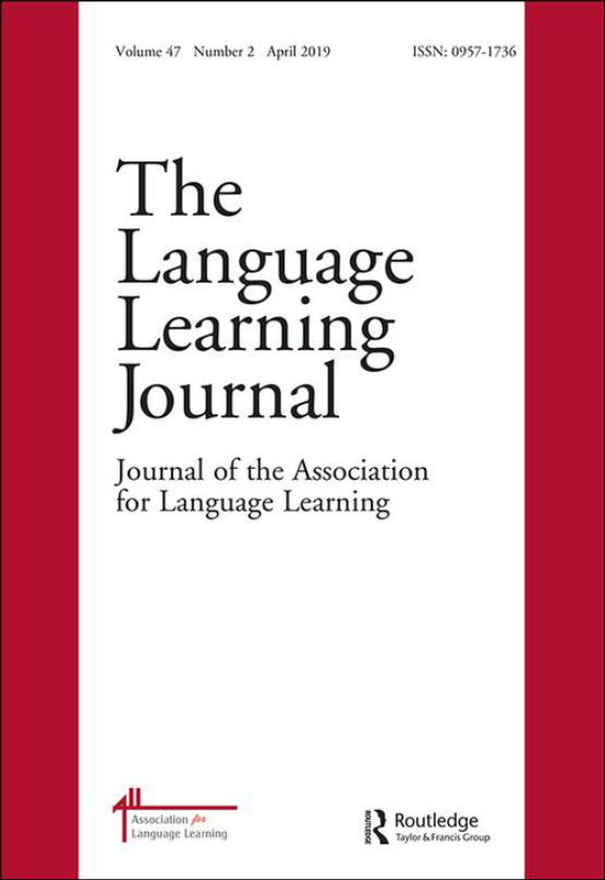 Cover image - The Language Learning Journal