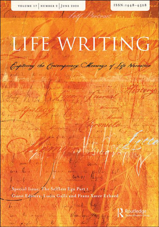 Cover image - Life Writing