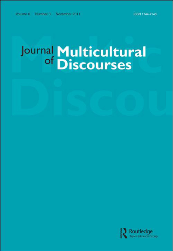 Cover image - Journal of Multicultural Discourses
