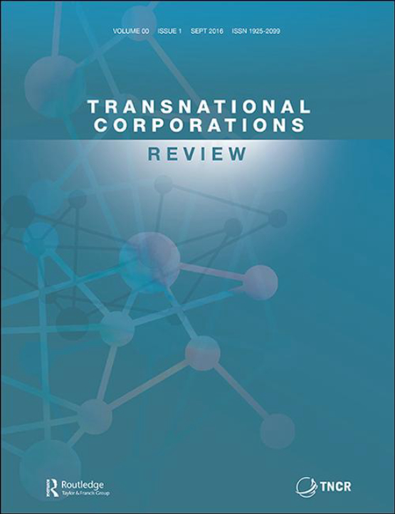 Cover image - Transnational Corporations Review