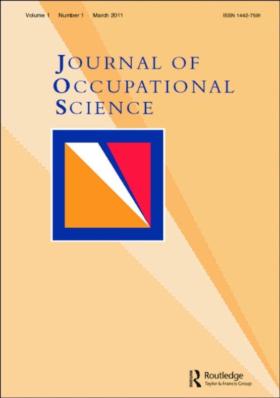 Cover image - Journal of Occupational Science