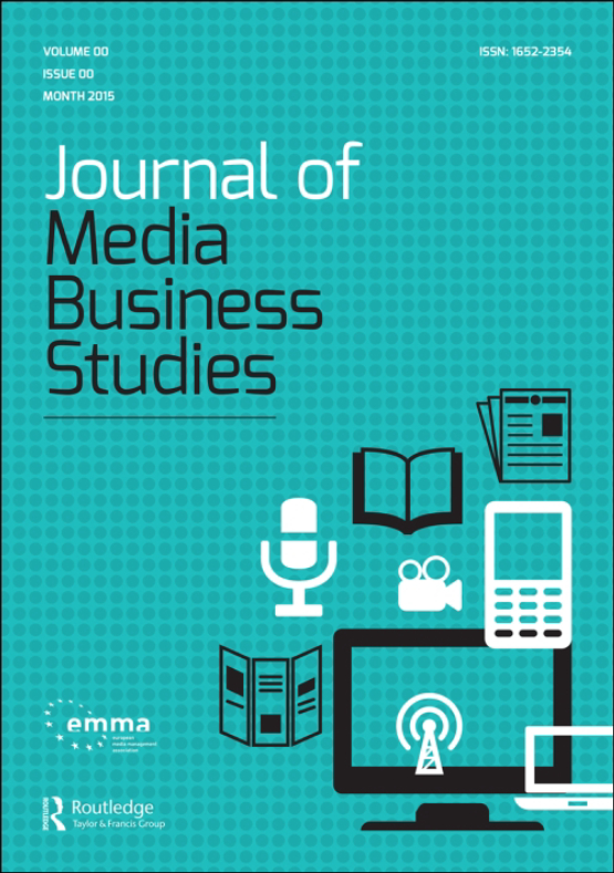 Cover image - Journal of Media Business Studies