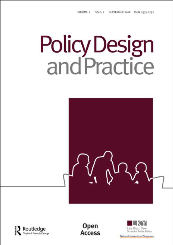 Cover image - Policy Design and Practice