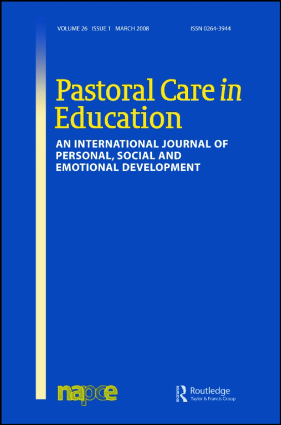 Cover image - Pastoral Care in Education