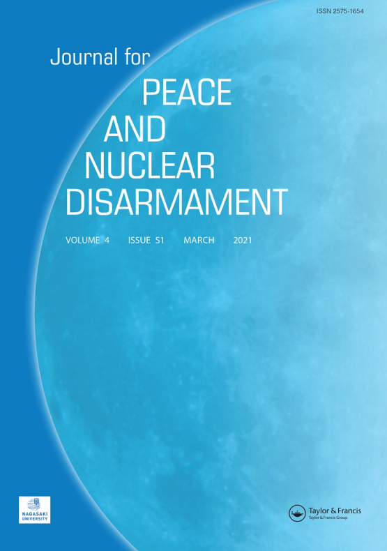 Cover image - Journal for Peace and Nuclear Disarmament