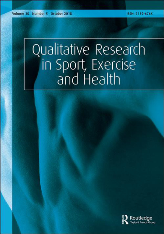 Cover image - Qualitative Research in Sport, Exercise and Health